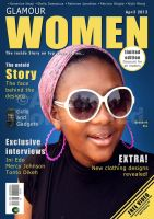 Glamour Women mag cover by mohammedAgbadi