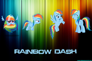 Rainbow Dash Timeline by hxcravers