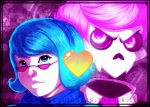 Mystery Skulls~a Tale Of Two Lovers by LittleMissSquiggles