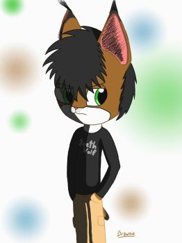 Brownie (Fursona) (chibi) OC by Biggysam7