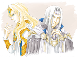 [Angelique] Guardians of Light and Darkness by Kathisofy