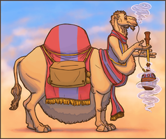 Kheylev the Corpulent Camel (Collab) by eorhythm