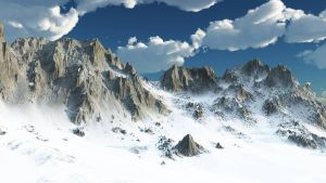 Fantasy Mountains by light-adept