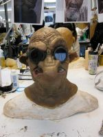 Finished Ogre Mask 1 by chillier17