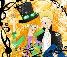 Art Trade - Eve and Sabo by Kimesama