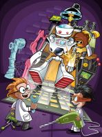 Robot Laboratory by Tarred-and-Feathered