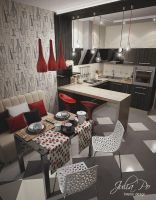 Kitchen - 2a by CheShindra