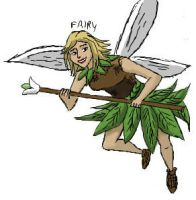 iScrib: Fairy by Daowg
