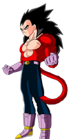 Vegeta SSJ4 by CrystalisZelda