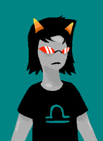 Terezi - More Homestuck-y Style by Owlcat113