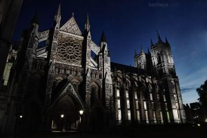 Westminster Abbey by evening II by sifu