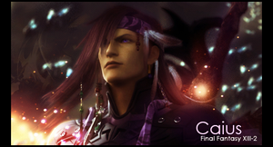 Caius ~ Final Fantasy XIII-2 by Iinsectica