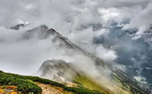Mountains - Tatry - Suche Czuby Kondrackie by miirex