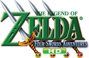 Four Swords Adventures HD Logo by Legend-tony980