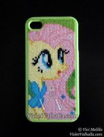 Fluttershy Green - iPhone 4 / 4s by VioletValhalla