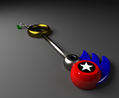 Sonic keyblade by DillanMurillo