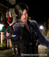 Leon Kennedy - Problem? by LeonCray