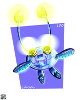 Day 9 - Chinchou by MarlonLeal