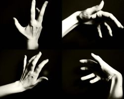 Hand Study by UlyLHarp