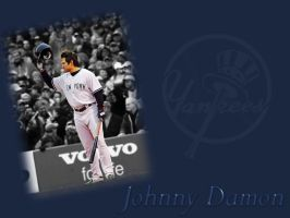 Johnny Damon BG1 by laurag53
