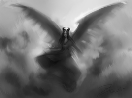 Maleficent sketch by Isolenta