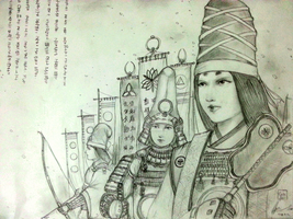 Minamori Sisters of Hibangana Shogunate by Gambargin
