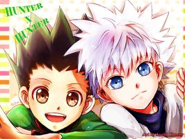 Gon n Killua #2 by Reddlire