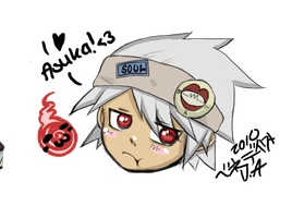SOUL EATER-Kawaii Face- by AsuHan