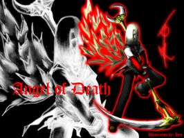 Angel of Death wallpaper by bloody7lunacy