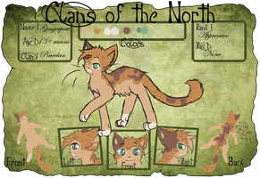 COTN :: Application :: Gingerpaw by xHalfaLife101x