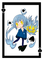 Chibi Commission Poker Cards -Example- by Hackwolfin