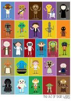 The A-Z of Star Wars by striffle