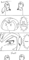 Megaman's Clever Choice by tonkonton