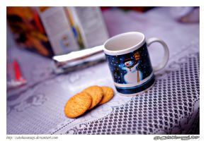 Day 289: Cookies and Coffee by CatoKusanagi
