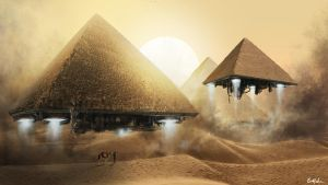 Pyramid Take off by Meewtoo