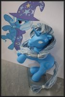 The Great and Powerful Trixie's good twin! WIP 1 by takysa