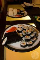 Homemade sushi by IngridStorm