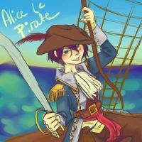 Alice le Pirate by pandapunk143