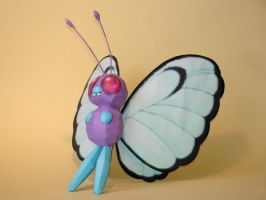 Butterfree Papercraft by Skele-kitty