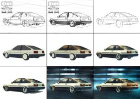 AE 86 tutorial by BramastaAji