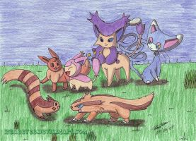 Favorite Normal Types by zeaeevee