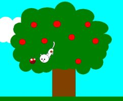 Marvin in the Tree by babypixee