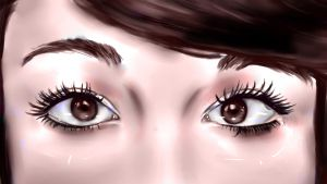 Shannon's Eyes by adell14
