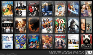 Movie Icon Pack 152 by FirstLine1