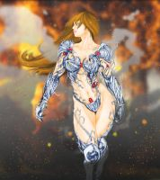 Witchblade: colors by julianx16