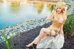 Sailor Galaxia Lingerie I by EnchantedCupcake