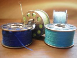 Unraveling Spools by The-Original-Moo-DOg