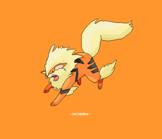 arcanine 059 by juenavei