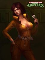 April O'Neil by lepyoshka