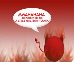 Evil egg by tumaseK